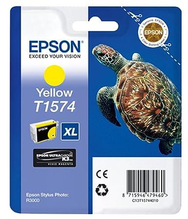 Epson T1574 Cartouche d'encre d'origine Jaune