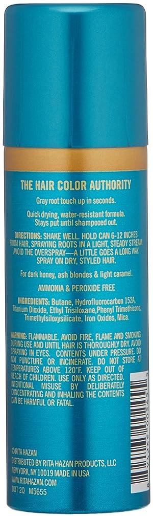 Rita Hazan Root Concealer Touch Up Spray, Dark Blonde Cover up Gray, 2 oz (Color: Dark Blonde, Tamaño: 2 Ounce)