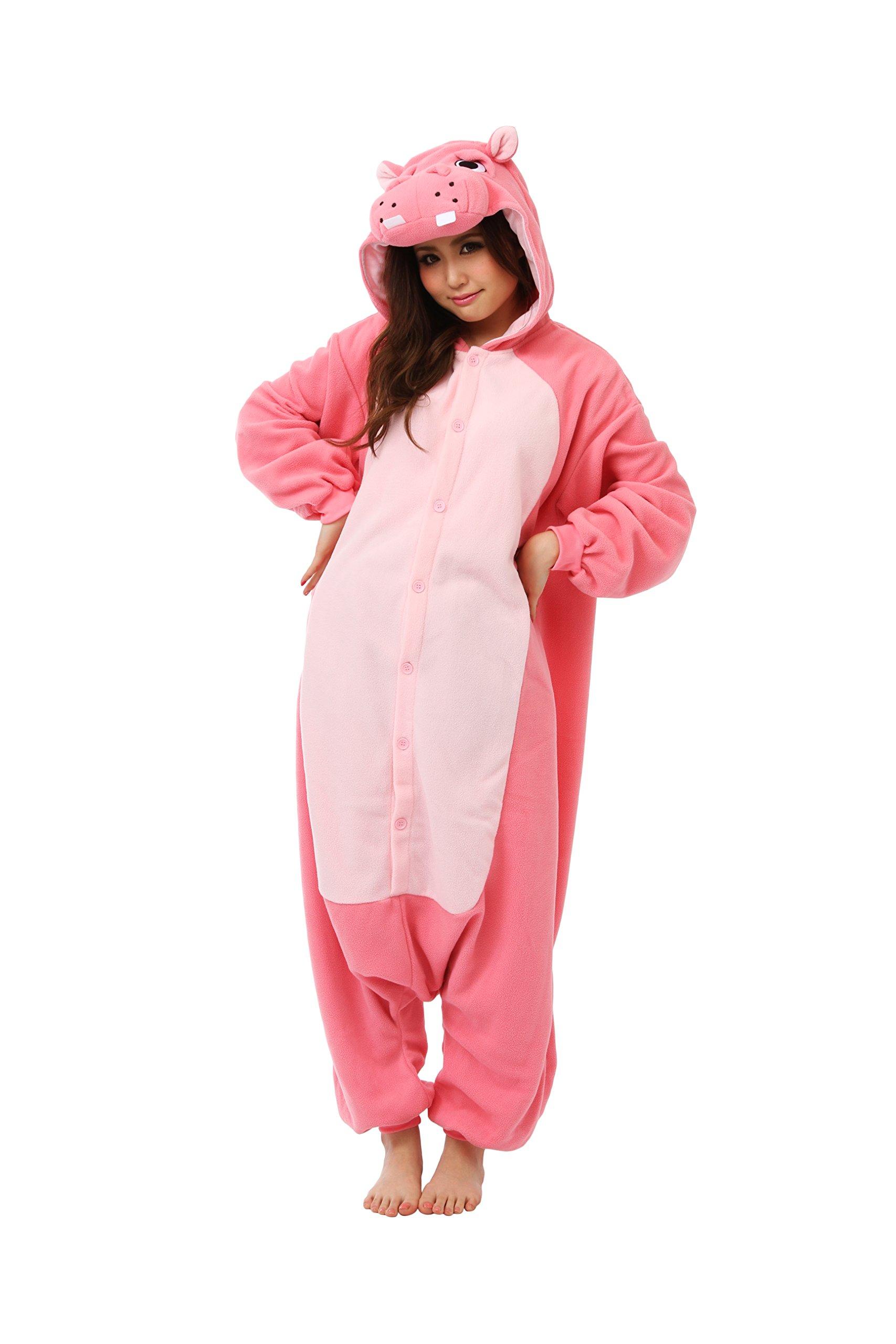 Hippo Kigurumi - Adult Costume
