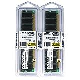 2GB KIT (2 x 1GB) For Biostar Motherboard P4TPT TForce 6100 U8668-D s U8768 U8788 U8868. DIMM DDR NON-ECC PC2100 266MHz RAM Memory. Genuine A-Tech Brand. (Tamaño: 2 Gb)