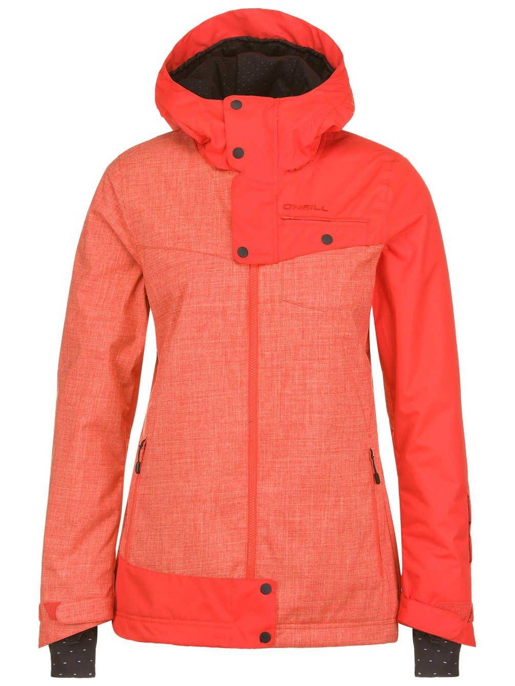 Damen Snowboardjacke Queue Jacket red