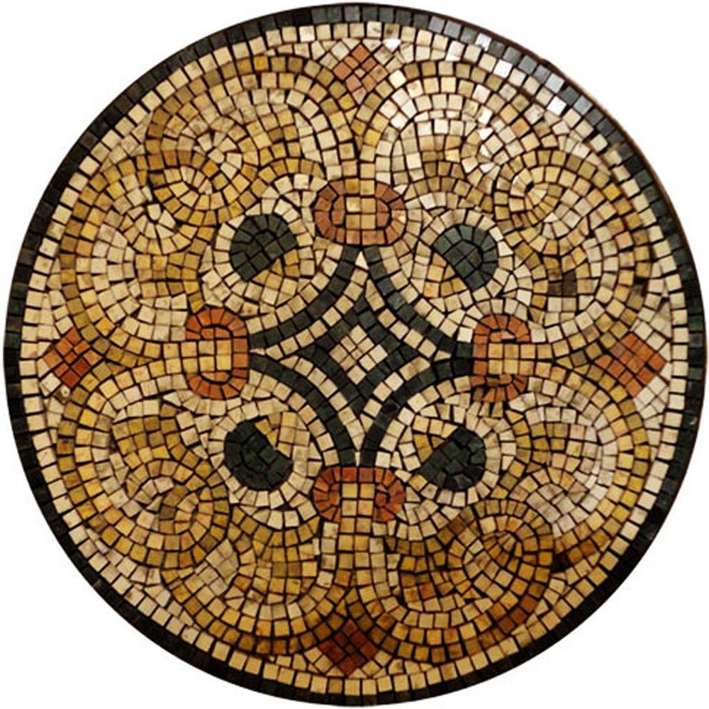 Dot Face Marble Mosaic Tiles Wall Bath Home Decor Medallion Floor Art (72