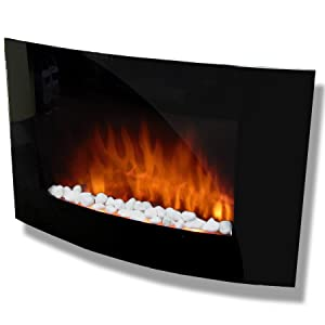 HANG ON THE WALL MOUNTED ELECTRIC FIRE PLASMA STYLE       Customer review