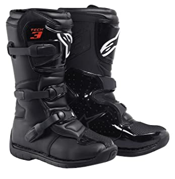 Alpinestars - Bottes cross - TECH 3S YOUTH BOOT - Couleur : Black - Pointure : 8