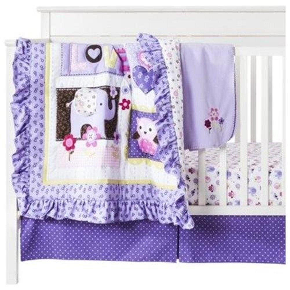 Circo Love n Lilacs Crib Bedding