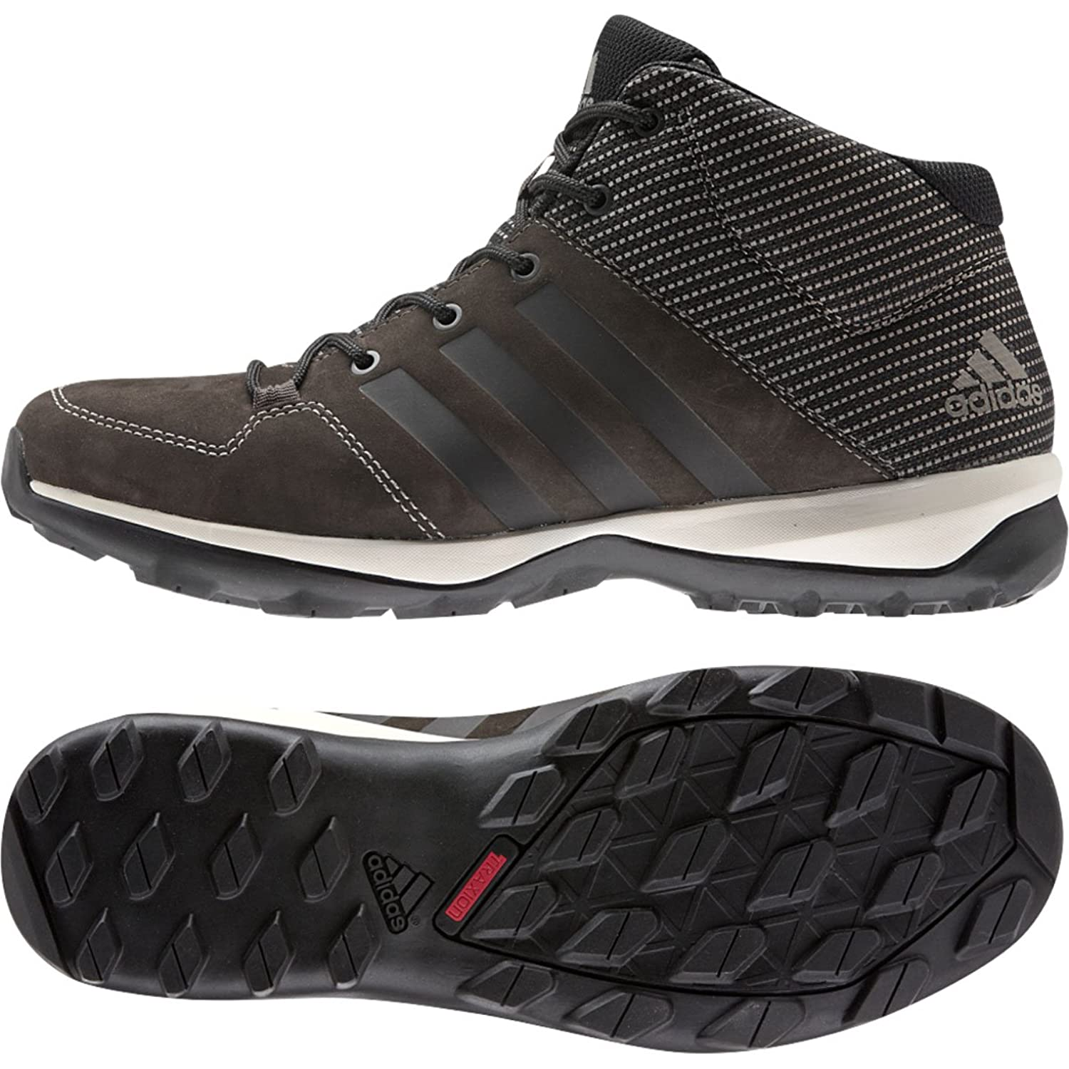 Adidas Outdoor 2015 Men's Daroga Plus Mid Leather Hiking Shoes - B27275 original new arrival 2017 adidas oracle vi mid men s tennis shoes sneakers