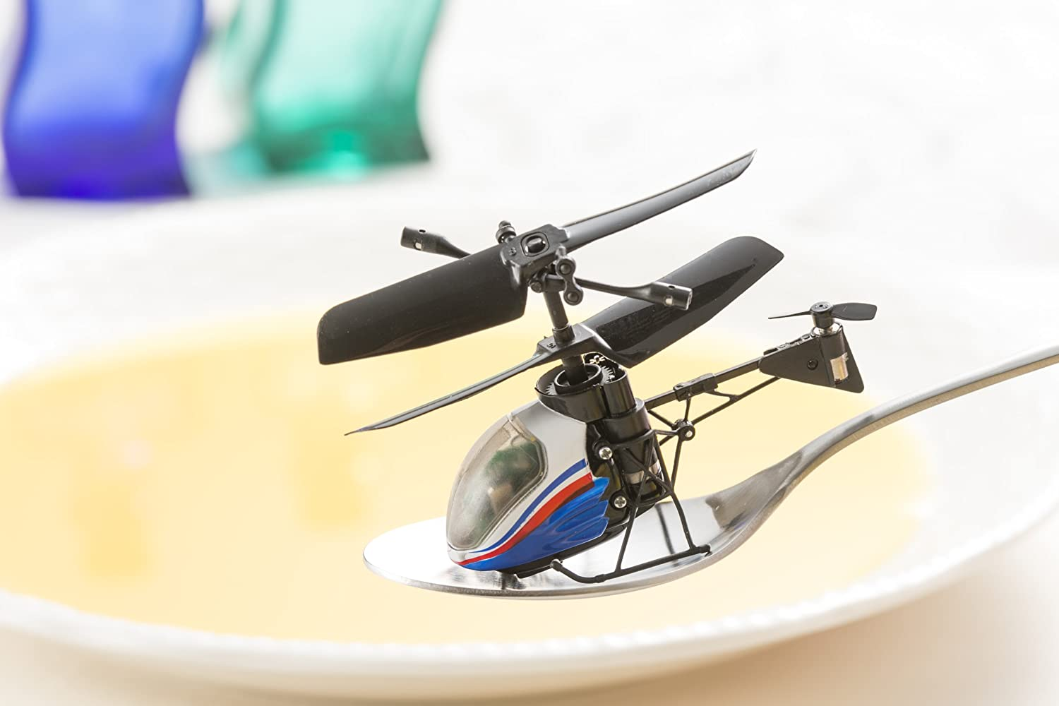 Nano-Falcon : World's Smallest  helicopter toy