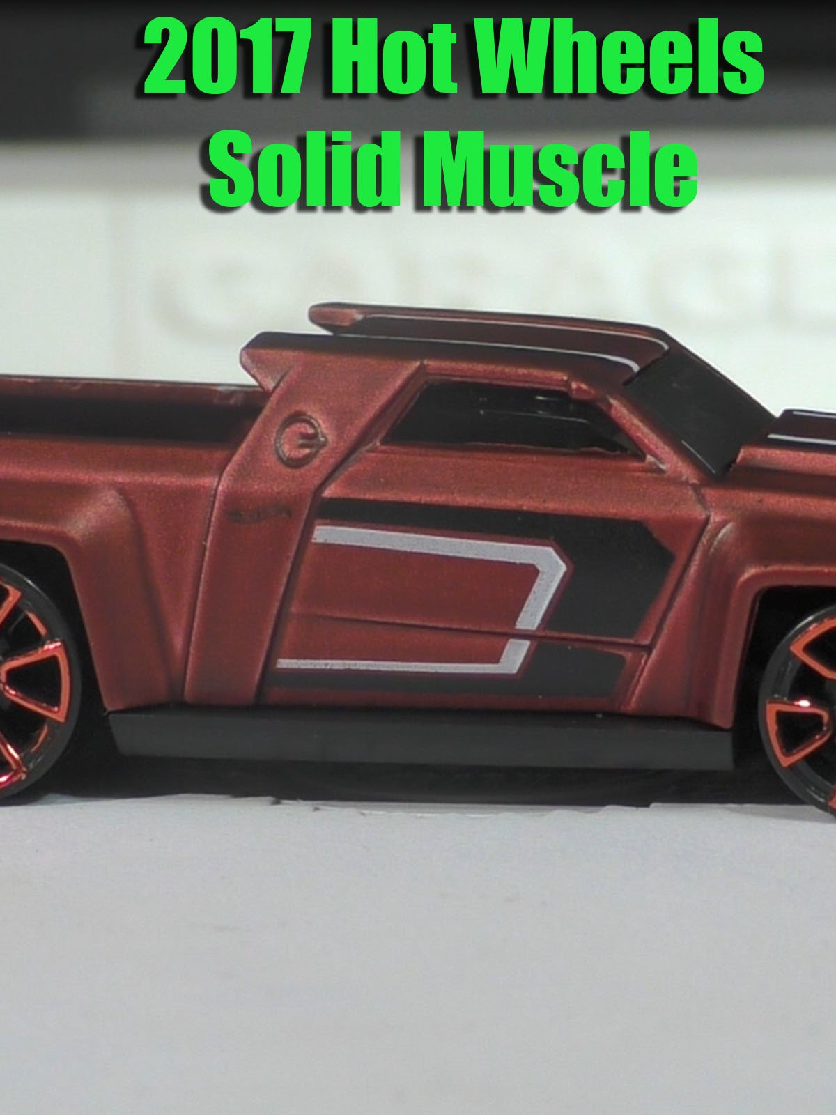 Review: 2017 Hot Wheels Solid Mucle on Amazon Prime Video UK