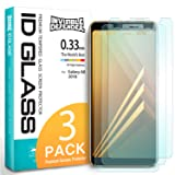 Samsung Galaxy A8 2018 Tempered Glass Screen Protector - Invisible Defender Glass [3-Pack / Case Compatible] Ultimate Clear Shield, High Definition Quality, 9H Hardness Technology for Galaxy A8 2018
