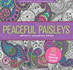 Peaceful Paisleys Adult Coloring Book...