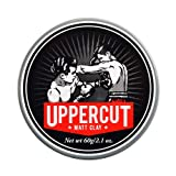 Uppercut Deluxe Matte Clay Pomade 2.1oz - Strong & Reworkable Hold - Dry Matte Finish