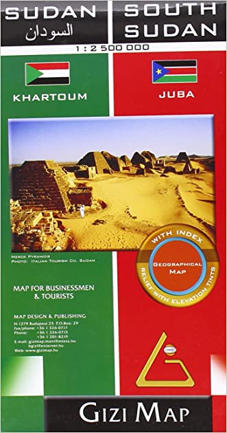 Sudan & South Sudan Geographical written by GiziMap %28Firm%29