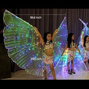 Dancer Girls w// Angels Felt Storyboard