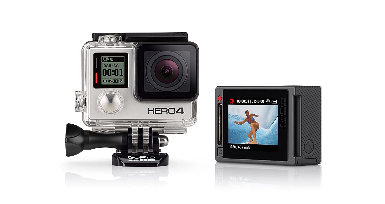 GoPro Actionkamera Hero4, Silver Adventure