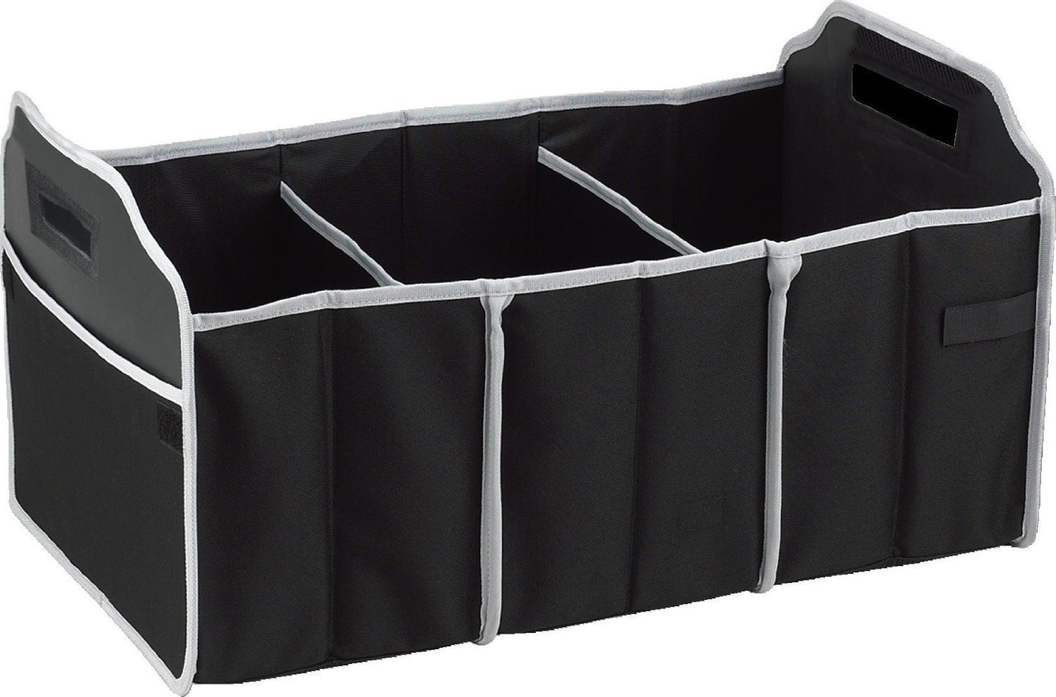 Foldable cartrunk organizer with cooler 15