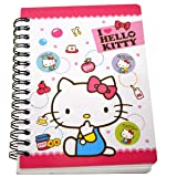 1 X Hard Cover Hello Kitty Notebook 4