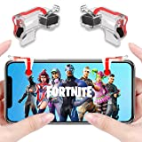 Anfiner Mobile Controller/Gaming Triggers/Phone Buttons Compatible with Fortnite/PUBG/Battle Royale/Knives Out/Free Fire FPS Mobile Games with Sharpshooter Sensitive Accessories 4Triggers (Color: Anfiner-MN, Tamaño: Anfiner-MN)