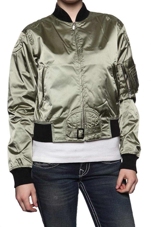Belstaff Black Label Damen Jacke Blouson-Jacke SOLDIER, Farbe: Olivgruen1