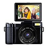 Video Camera Camcorder Full HD 1080p 24MP Digital Camera Retractable Flash Light Vlogging Camera With UV Lens (Color: B4)