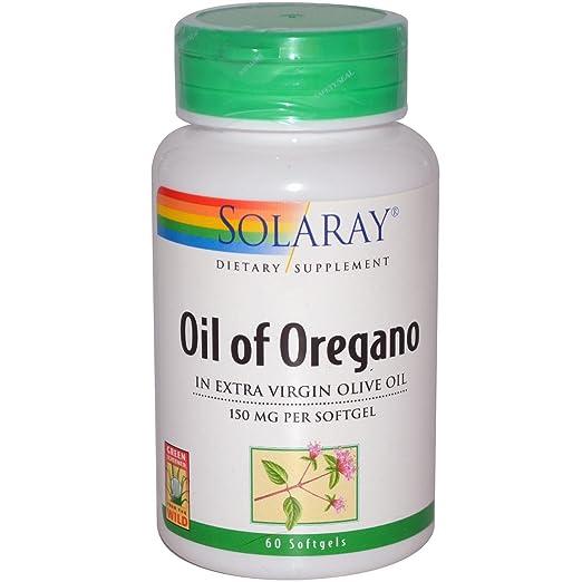 Отзывы Solaray Oil of Oregano 150 mg 60 Softgels