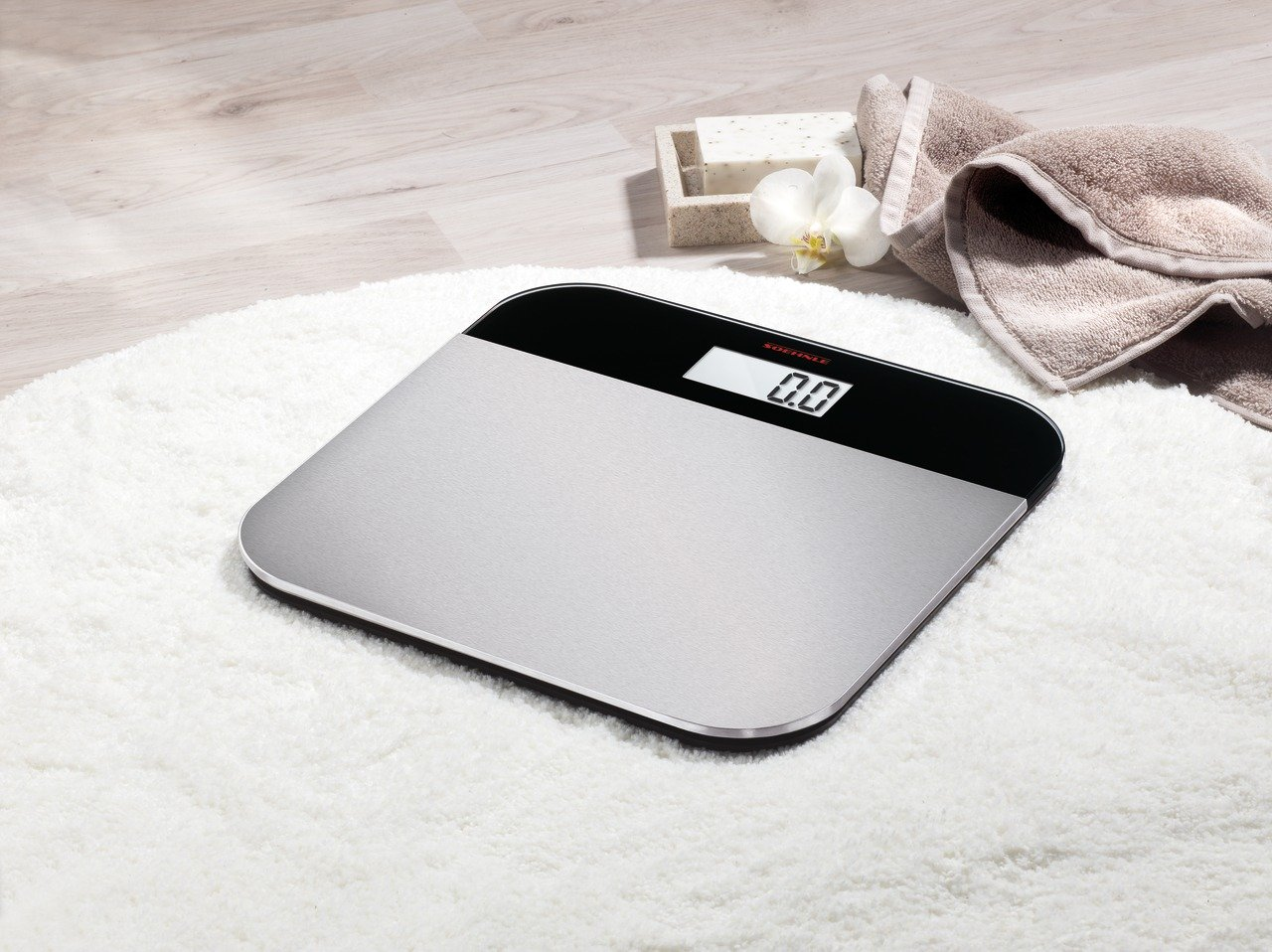 Soehnle Elegance Steel Electronic Personal Bathroom Scale