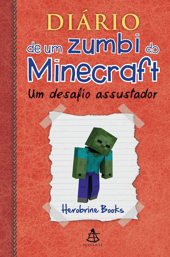 Resenha - Diário de um zumbi do Minecraft: Um desafio assustador