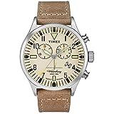 Timex Waterbury Watch TW2P84200 - Leather Gents Quartz Chronograph (Tamaño: One Size)