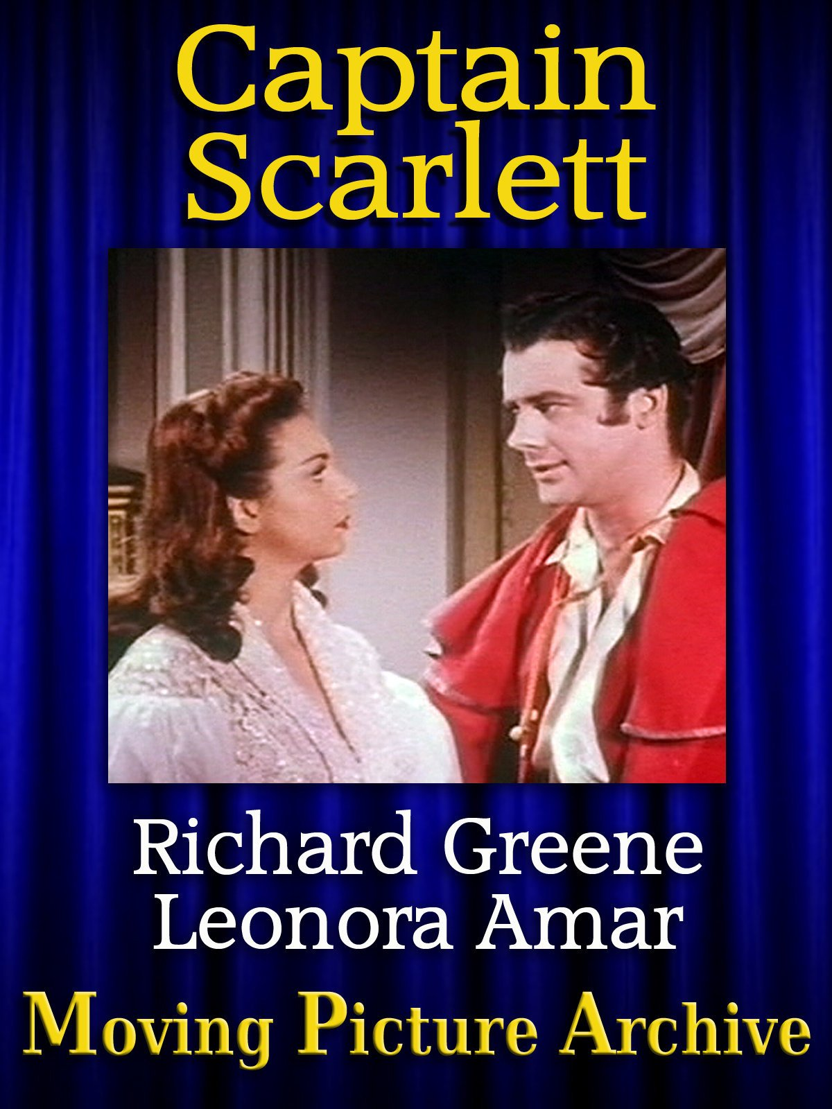Captain Scarlett - Color - 1953