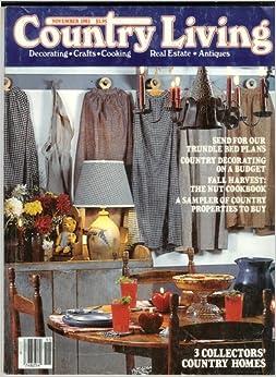 Country living magazine november 1983 6 rachel newman for Country living magazine phone number