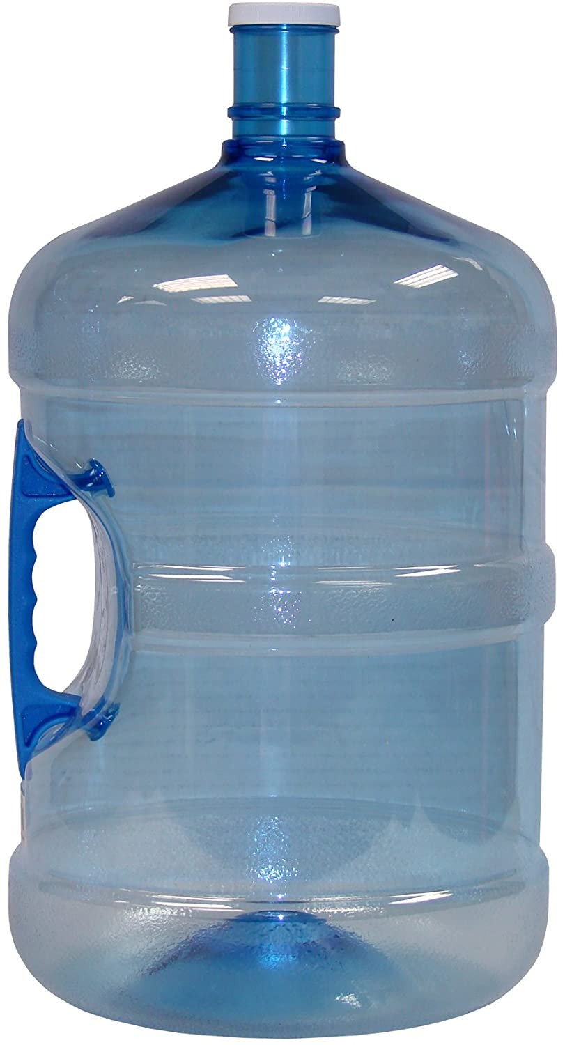 Gallon water bottle jug with handle and made in the u s a this