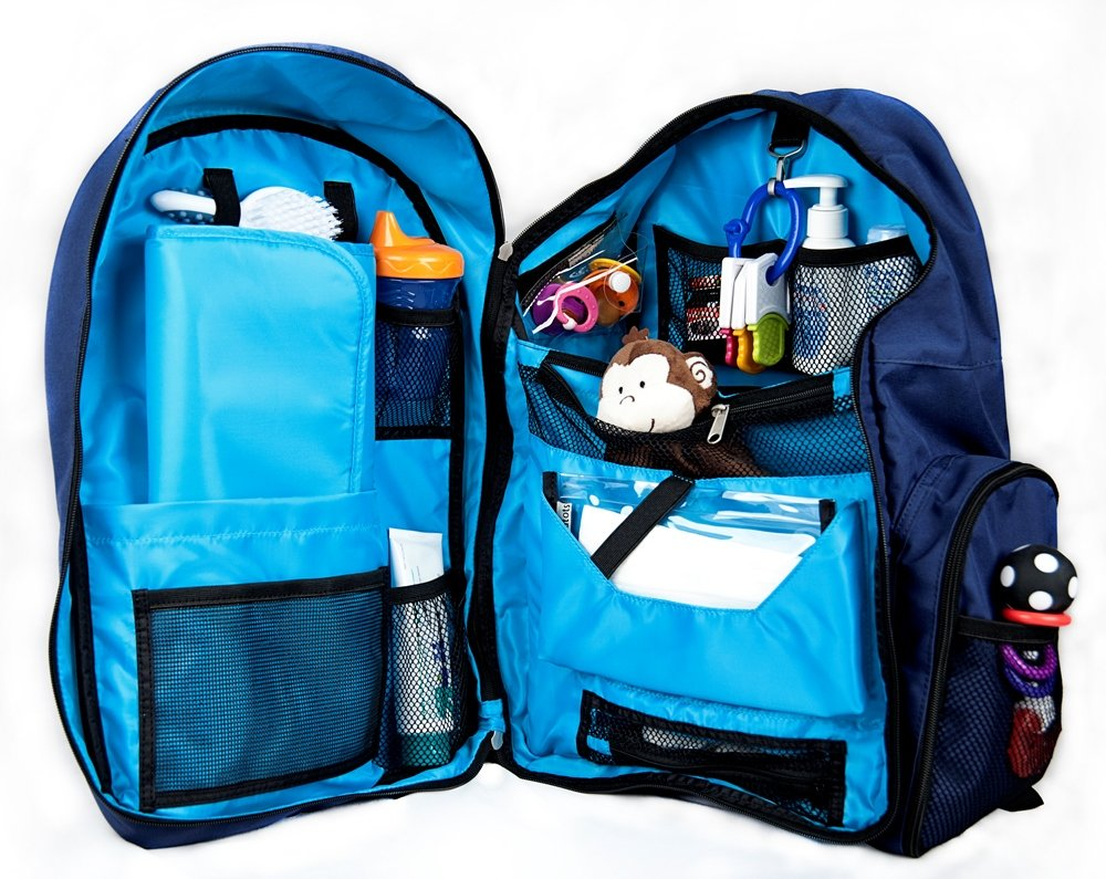 okkatots travel diaper bag review by a mom work at. Black Bedroom Furniture Sets. Home Design Ideas