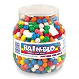 Rain-Blo Bubble Gum Balls, 53 Ounce Jar (Tamaño: 53 Ounce Jar)