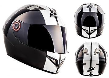 SOXON ST-666 Deluxe snow - blanc Int_gral moto casque helmet quad scooter ECE - XS S M L XL