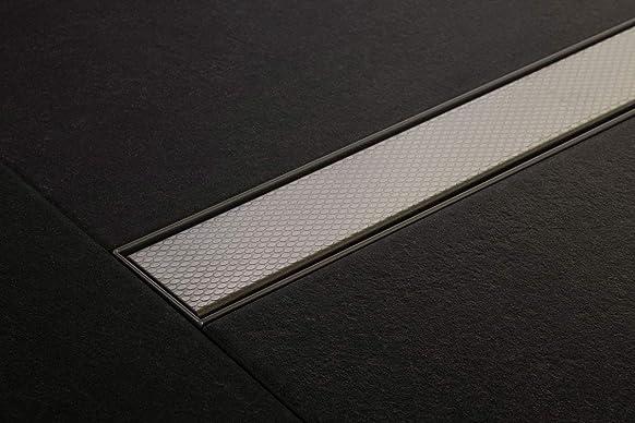 Doccia Rinne perla 1400mm in acciaio inox