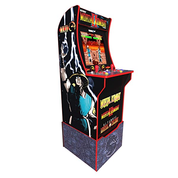 Arcade 1Up Mortal Kombat at-Home Arcade System with Custom Riser
