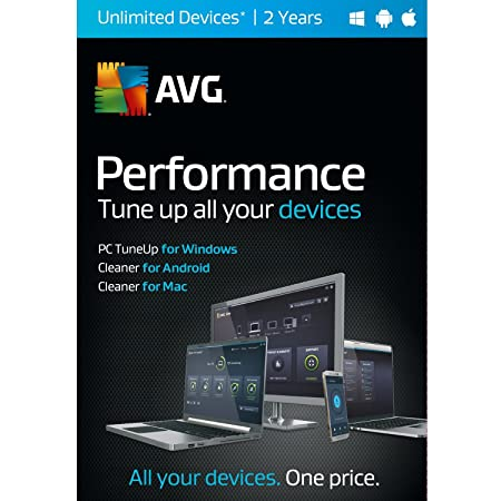 AVG Performance, UNLIMITED devices 2 Year [Download]