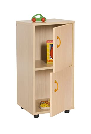 mobeduc 600217hps18 Child Under Cupboard/Cabinet with 2 Doors – Beech 76.5 x 36 x 40 cm