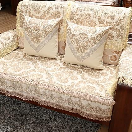cojines de sofá de madera sólida chino/Temporadas resbalón mat sat continental-A