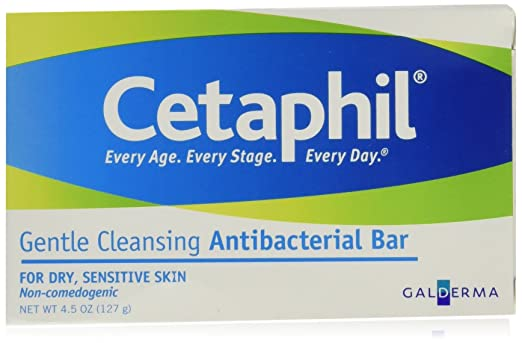 Cetaphil Antibacterial Cleansing Bar Reviews