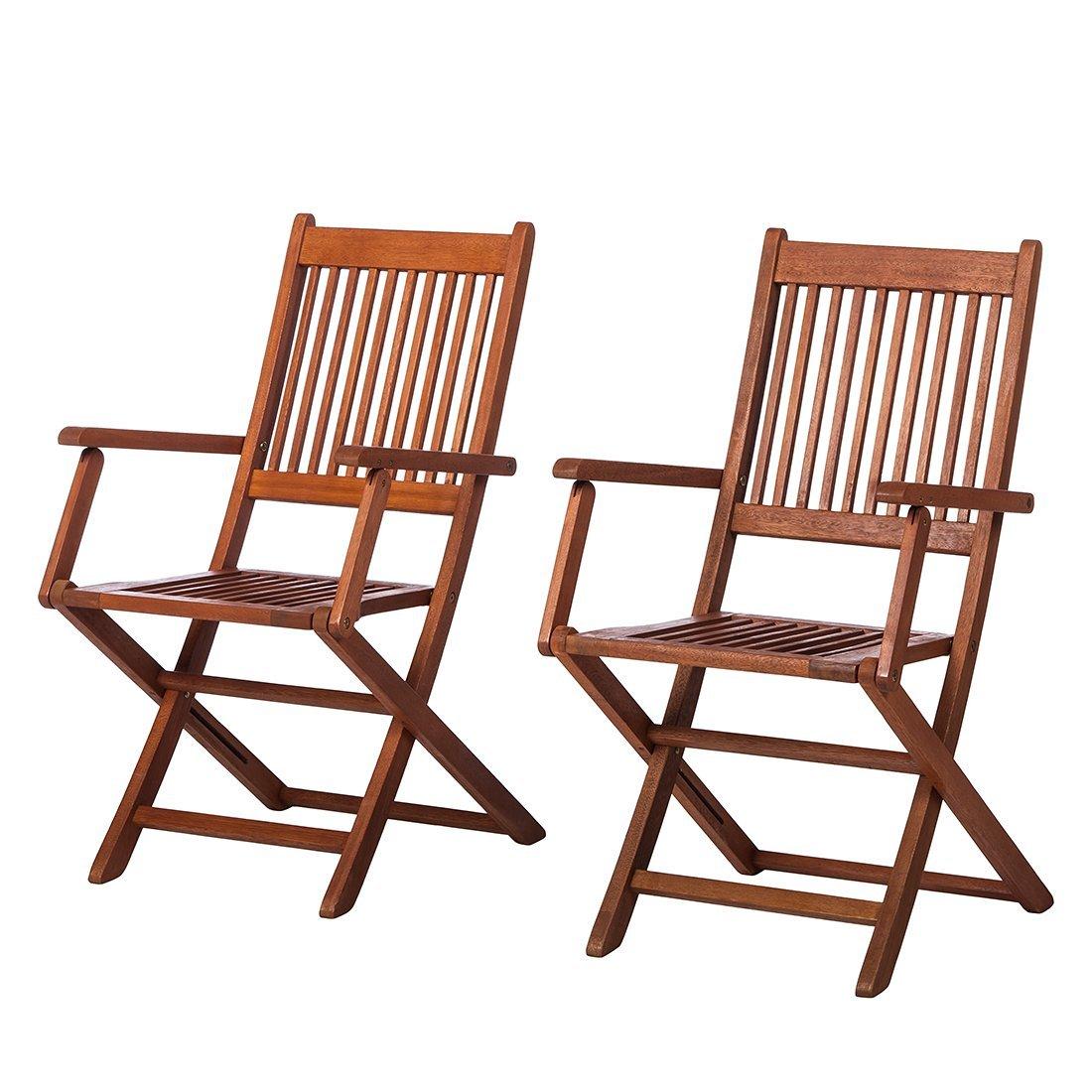 MERXX Garten-Klappsessel Rio aus FSC-Holz, 2er-Set kaufen