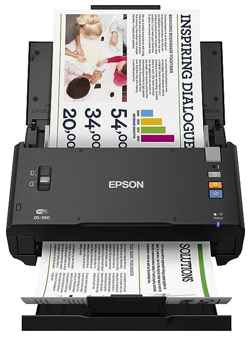 Epson Workforce Ds-560 Scanner A4 à chargeur de document, Wi-fi direct, USB