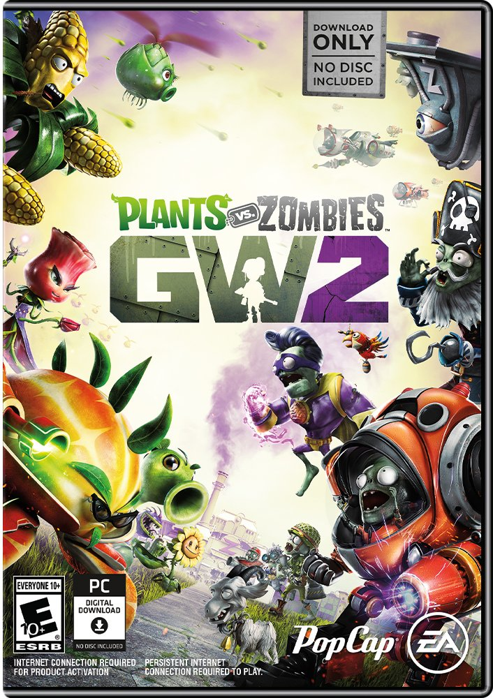 Plants vs. Zombies Garden Warfare 2 - PC (NO DISC)
