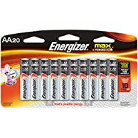 Energizer MAX AAA Batteries 20 Count