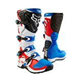 2018 Fox Racing Comp 5 Boots-Blue/Red-10