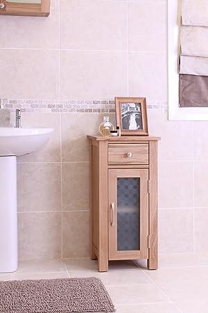 Baumhaus - Mueble de baño pequeño en madera de roble
