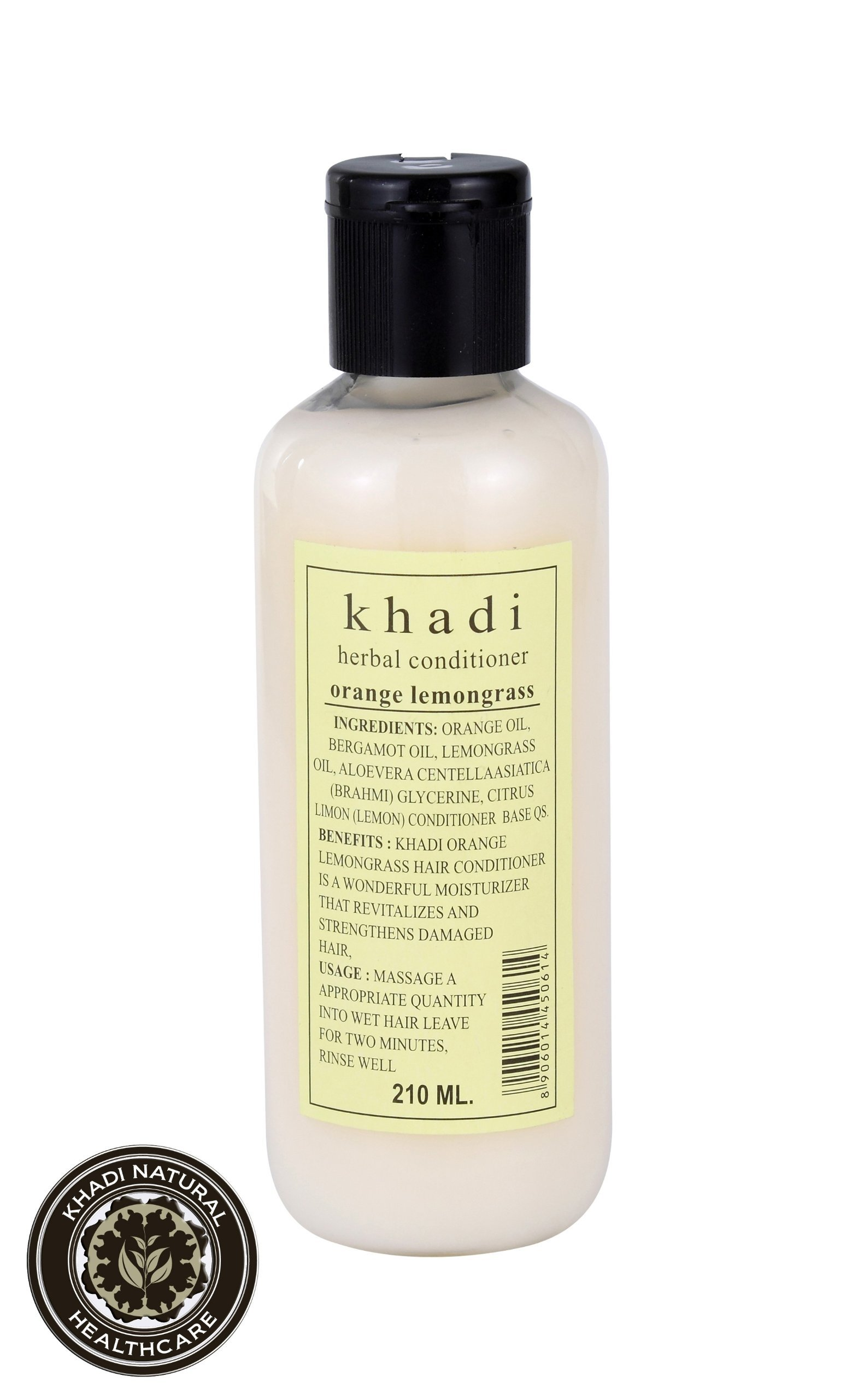 Khadi Herbal Orange Lemongrass Hair Conditioner