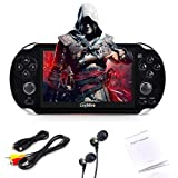 Loyalfire Handheld Game Console, Game Player with 4.3