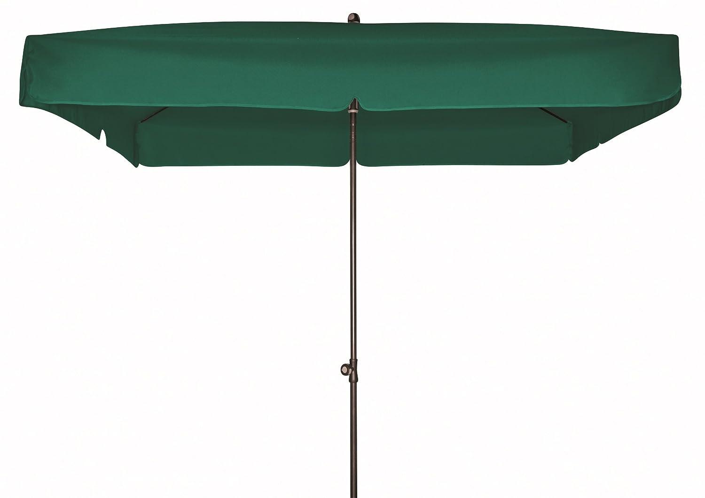 Doppler Gartenschirm Sun Line III 200x200 quadratisch mit UV-Schutz 50, Farbe dunkelgrün