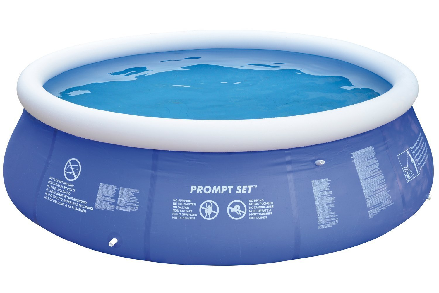 Jilong JL010208NG Prompt Set Pools Planschbecken 450x90cm Swimming Pool Schwimmbad Quick-up Wassersport