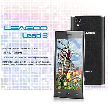 Leagoo Lead3 4 5 Zoll Ips Qhd 3g Smartphone Android Qjgdygdjh